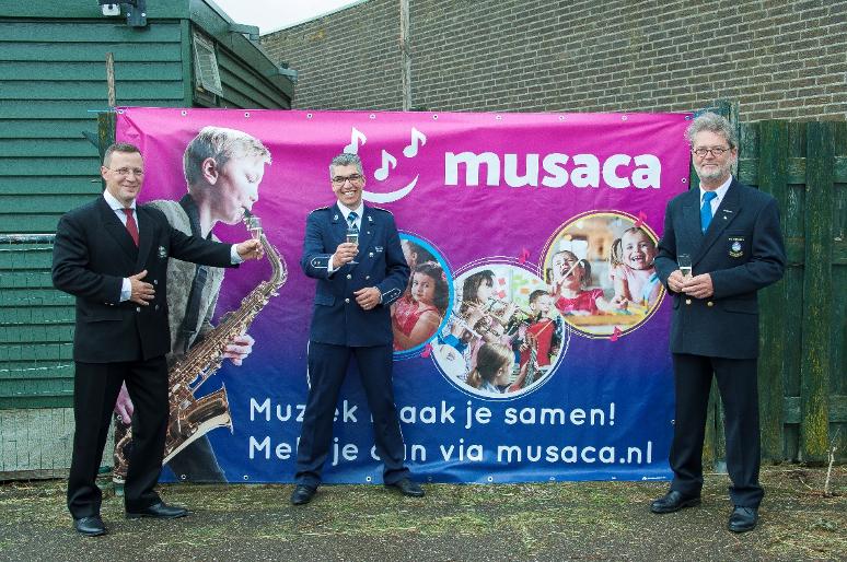Musaca is een samenwerkingsverband tussen 3 muziekverenigingen